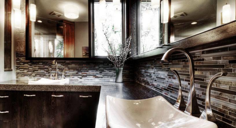 """""""After"""" Modern Master Bath Remodel 3"""